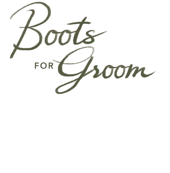 Boots for the Groom