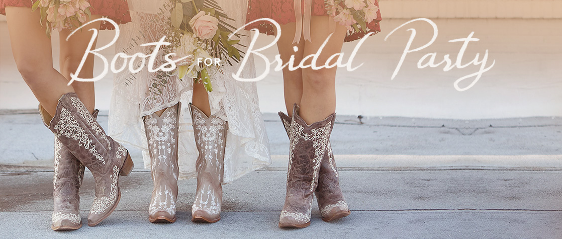 Boots for Bridal Party