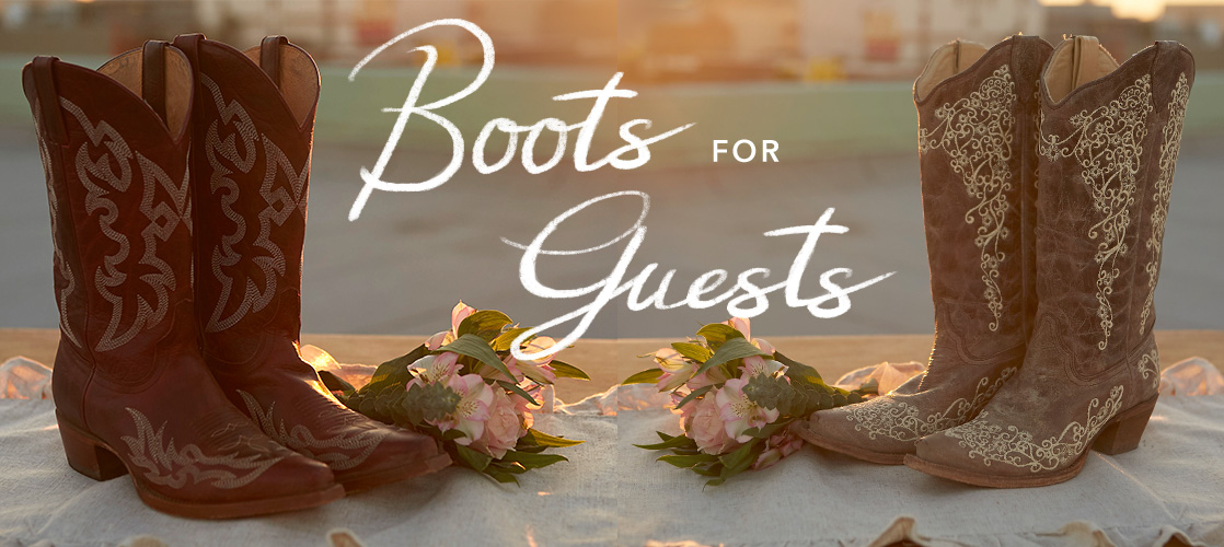 Boots for the Guests