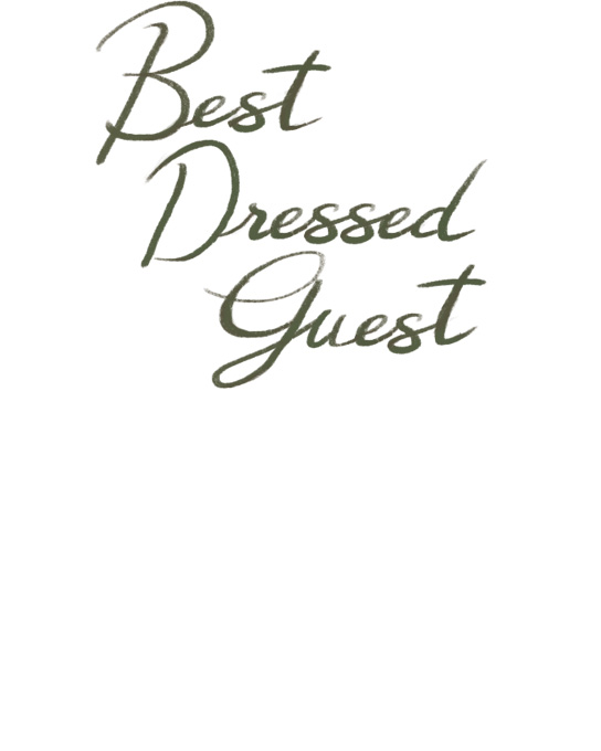 Best Dressed Guest