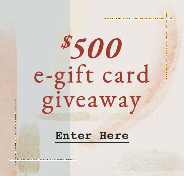 e-Gift Card Giveaway
