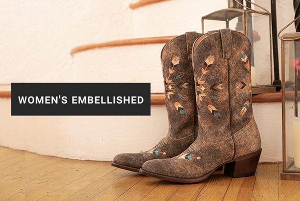 Shop Women's Embellished Boots