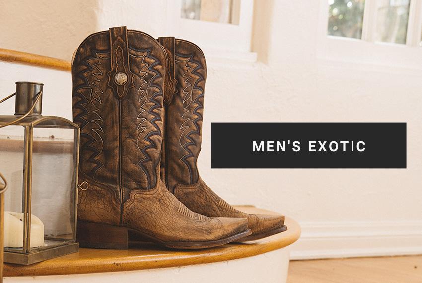 Shop Men's Exotic Boots