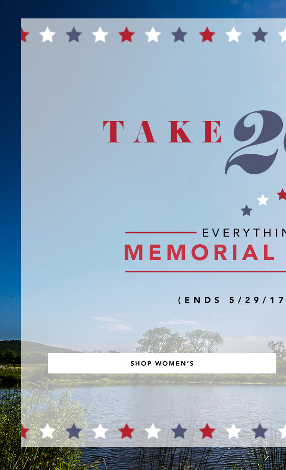 Take 20% Off On Women's