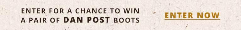 Win A Pair Of Dan Post Boots