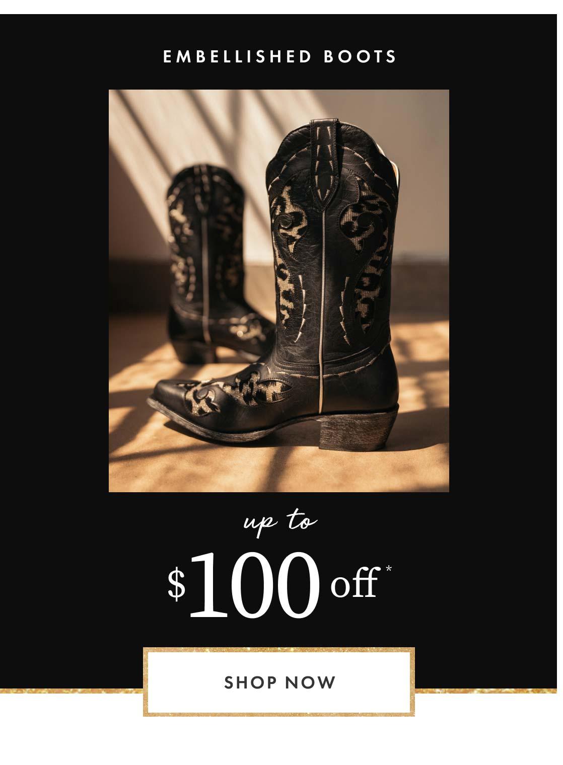 Shop Embellished Boots