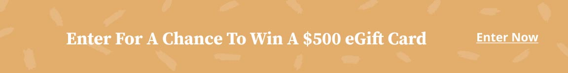 Win a $500 eGift Card