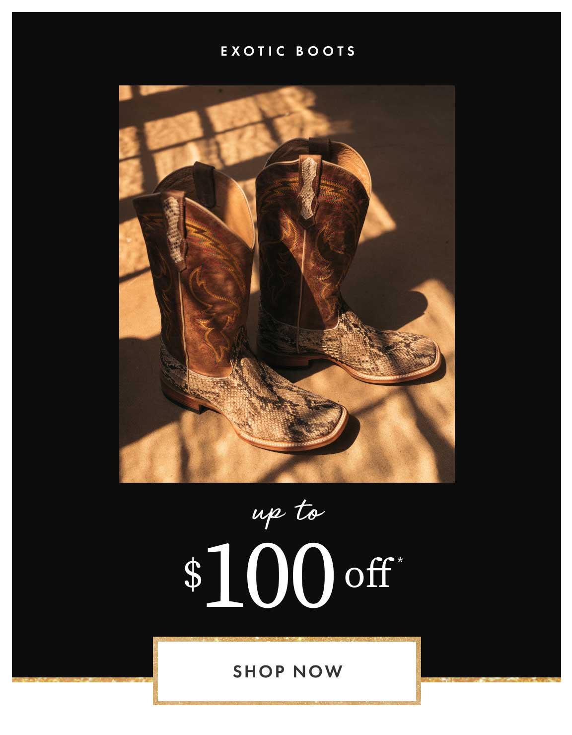 Shop Exotic Boots