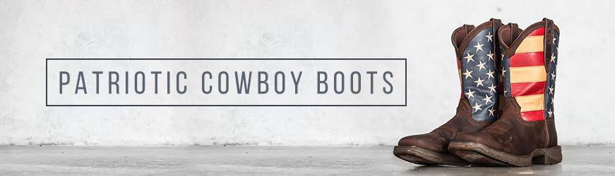 Patriotic Cowboy Boots