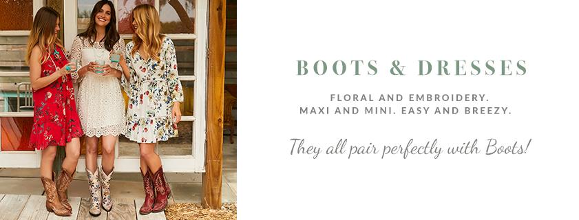 Boots & Dresses